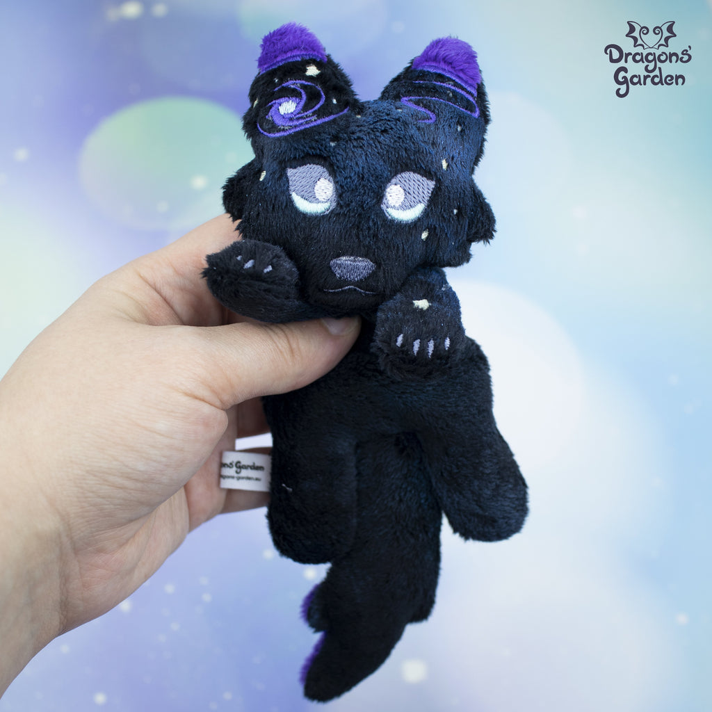 Galaxy Wolf Plushie - Dragons' Garden