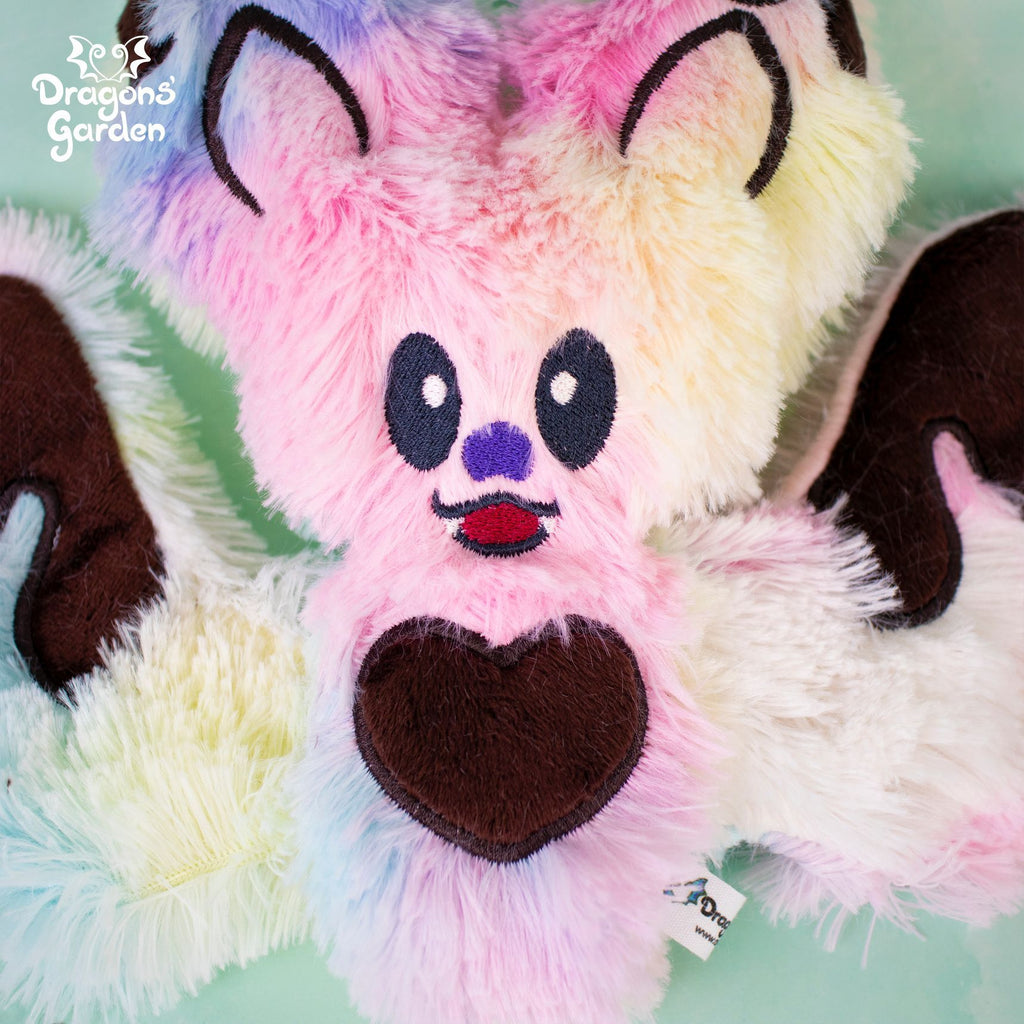 ITH Chocolate Bats Plushies Embroidery Pattern - Dragons' Garden