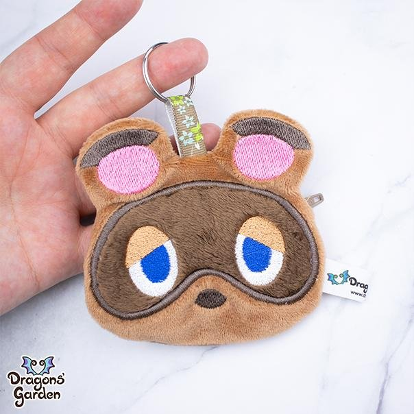 ITH Nook Zipper Pouch Charm Embroidery Pattern - Dragons' Garden