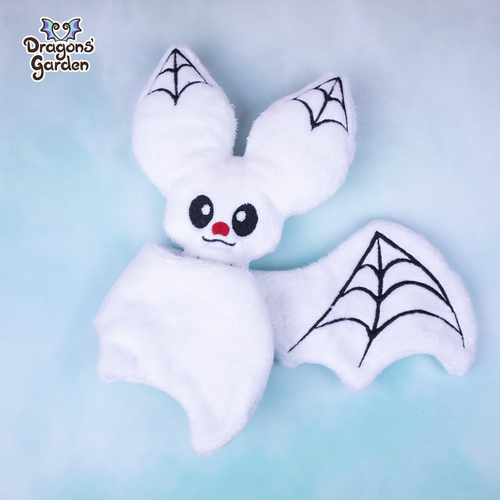 ITH Spider Bat Plushie Embroidery Pattern - Dragons' Garden