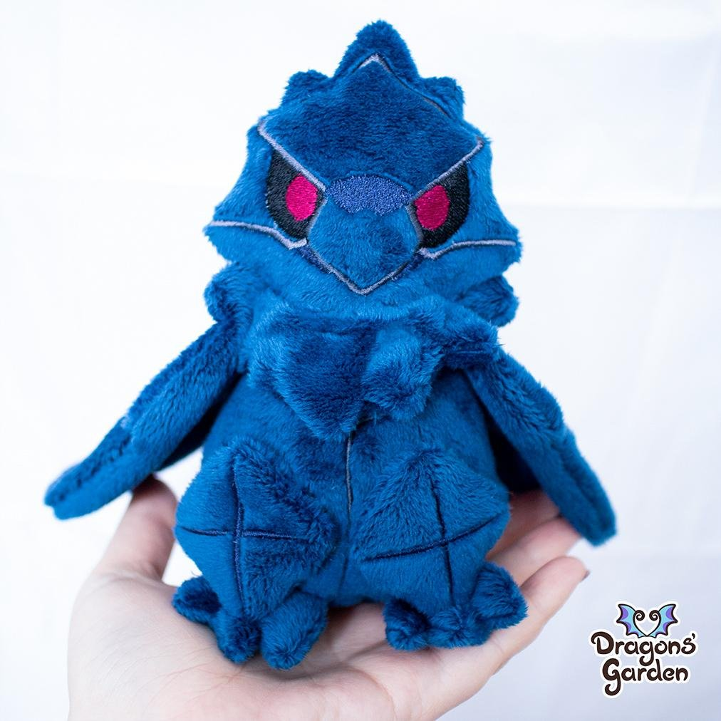 Made to Order | Corviknight Plushie - Dragons' Garden