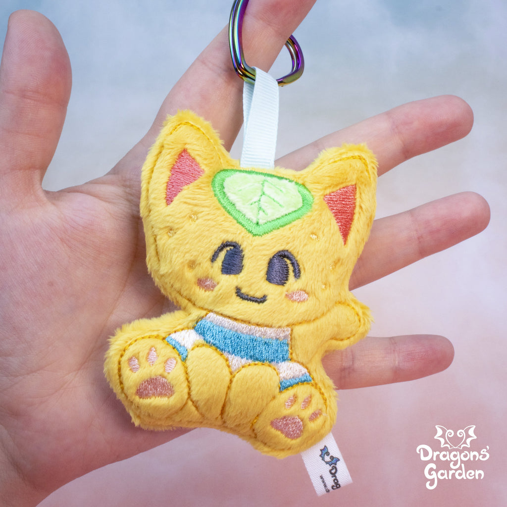 Tangy | Animal Crossing Keychain Charm - Dragons' Garden