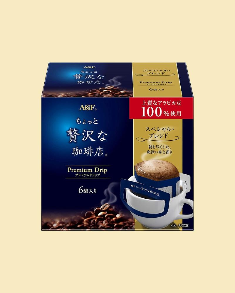 Shop AGF Blendy Cafe Premium Special Blend Dripped Coffee