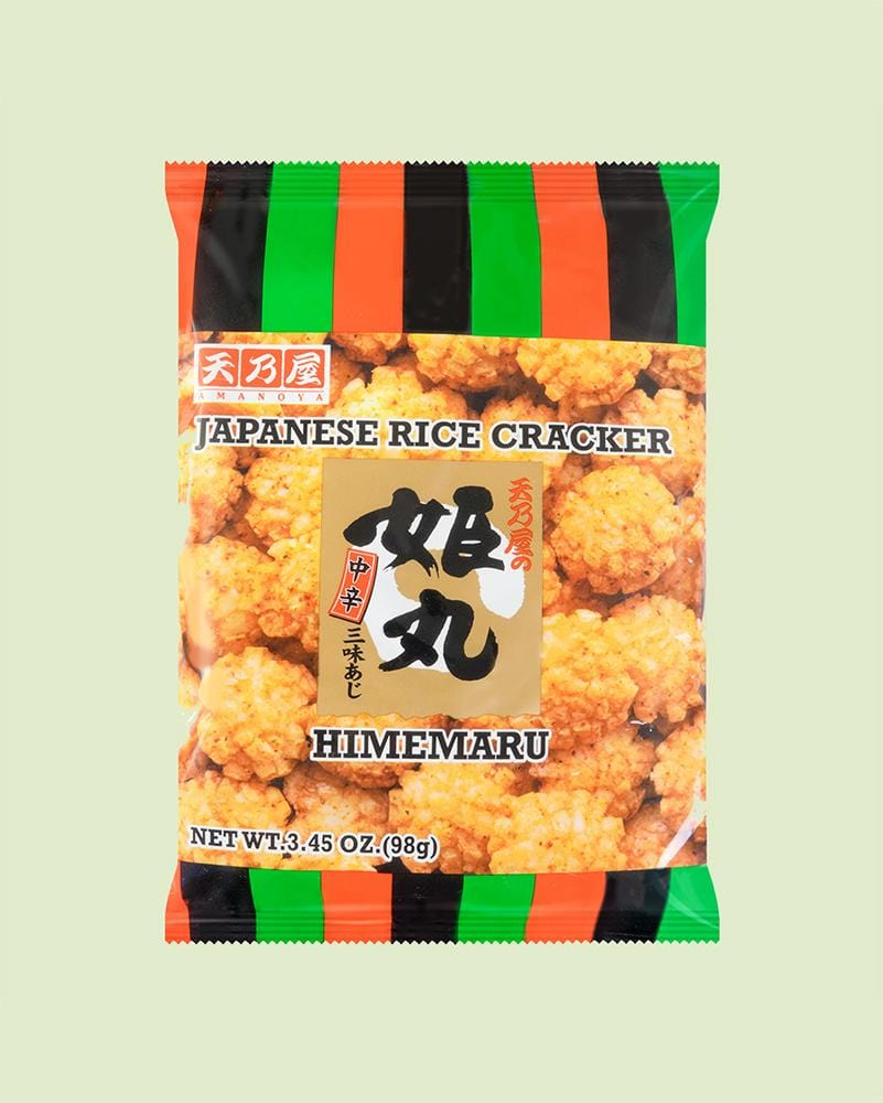 Amanoya Himemaru Japanese Rice Crackers