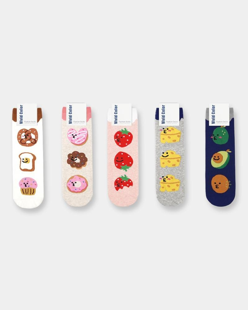 Shop Brunch Time Socks