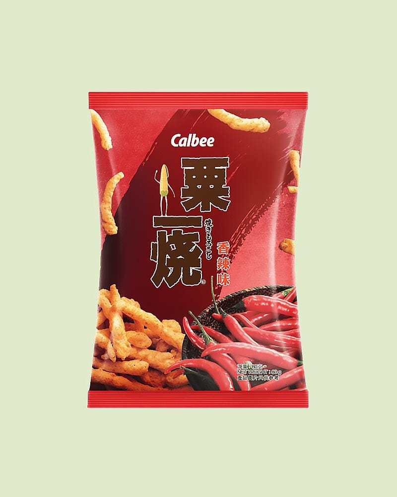 Calbee Grill-A-Corn Spicy Chips