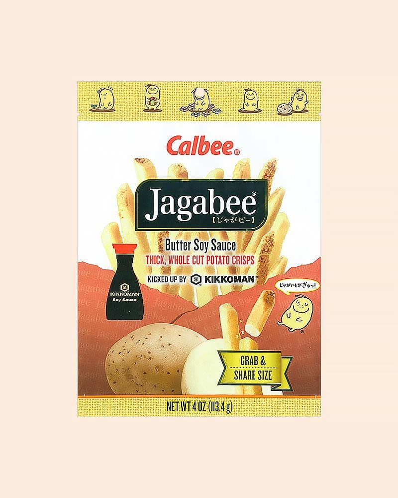 Calbee Jagabee Butter Soy Chips