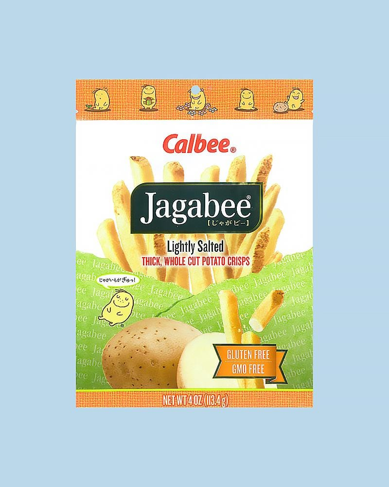 buy calbee jagabee lightly salted chips
