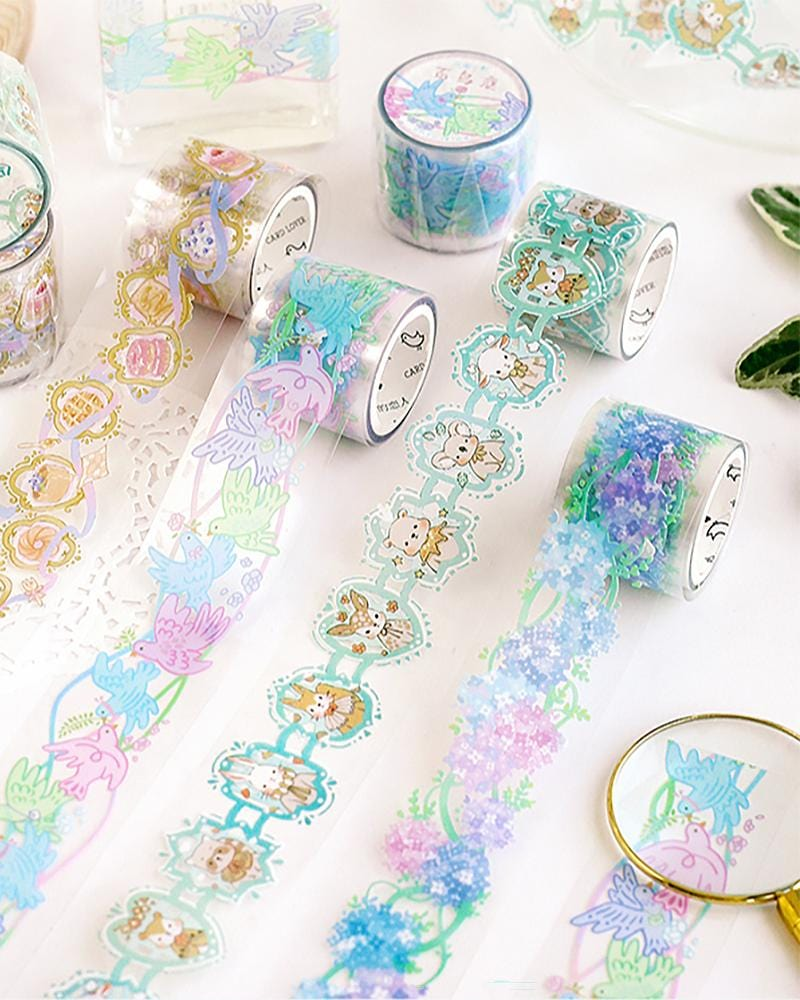 Shop Cardlover Flower Street Clear PET Tape
