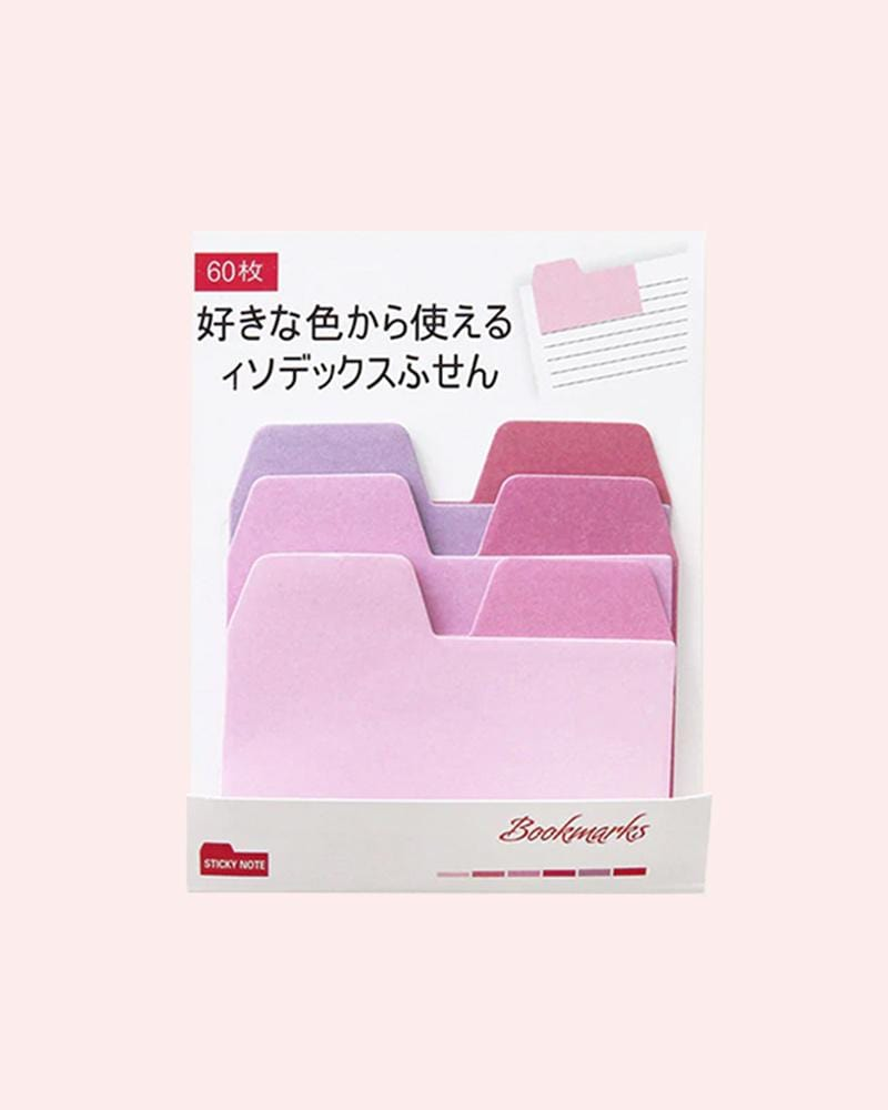 Colourful Sticky Note Tabs
