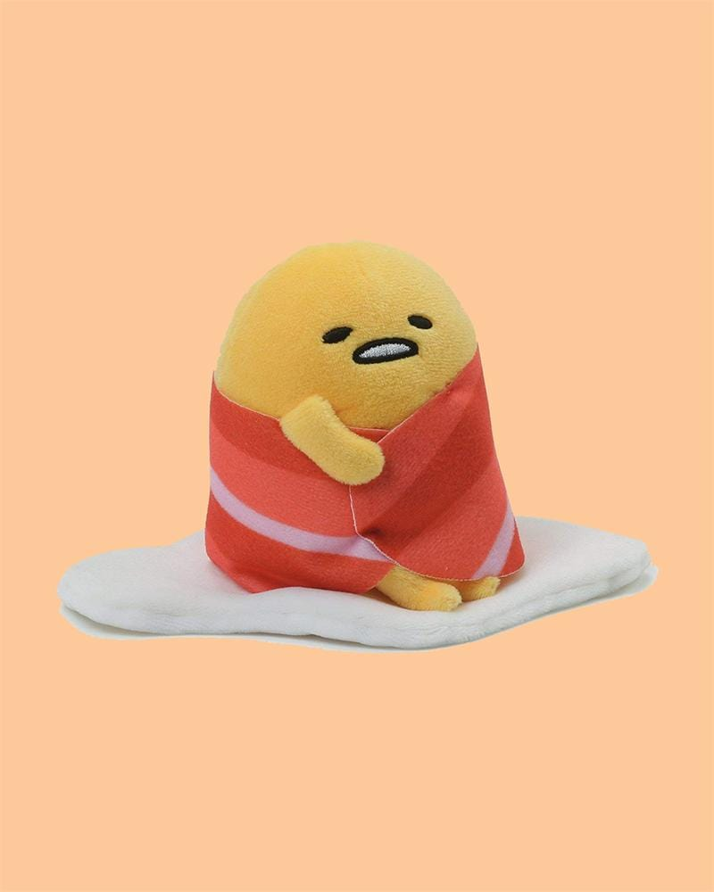 GUDETAMA© Plushie Bacon Wrap 4""