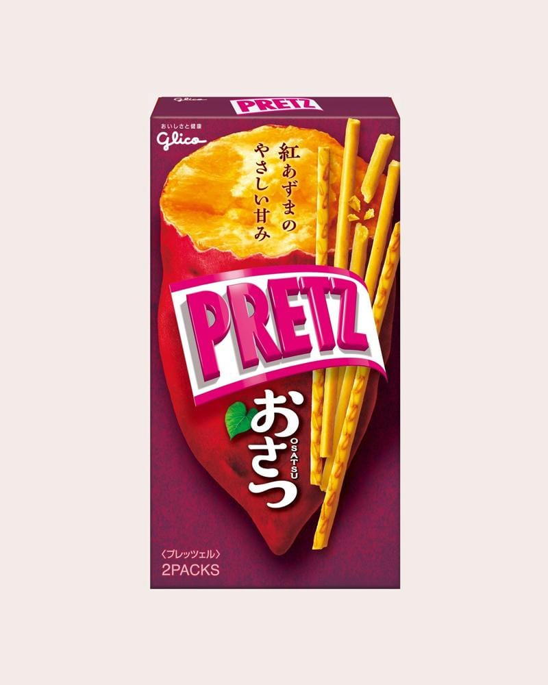 Glico Sweet Potato Pretz Biscuit Sticks