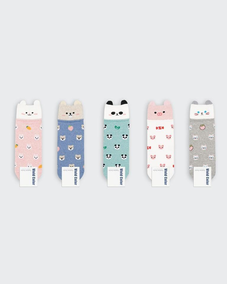 buy cute kawaii japanese happy animal socks