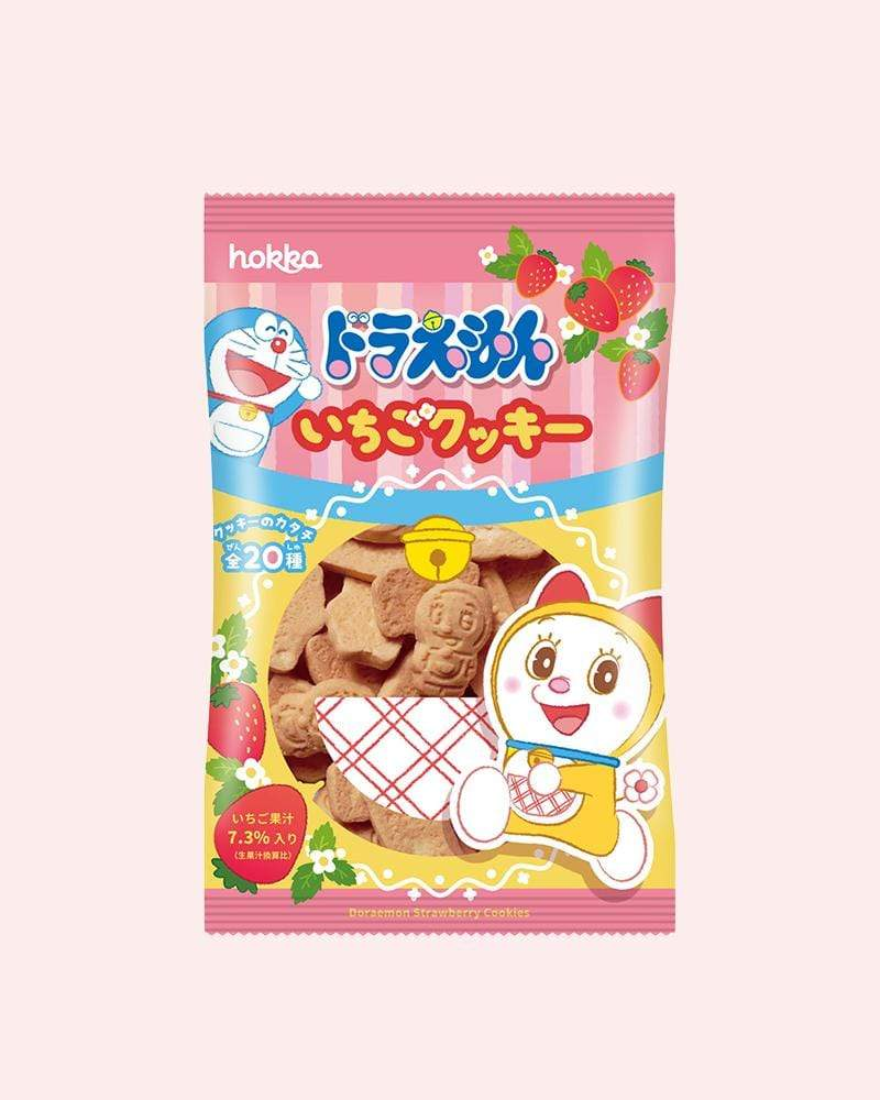 Shop Hokuriku Doraemon Dorami Strawberry Cookies