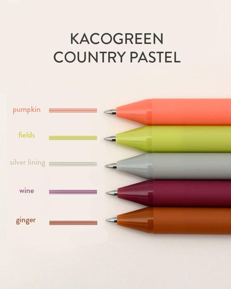 Buy KACO Country Pastel Pure Gel Pen Set