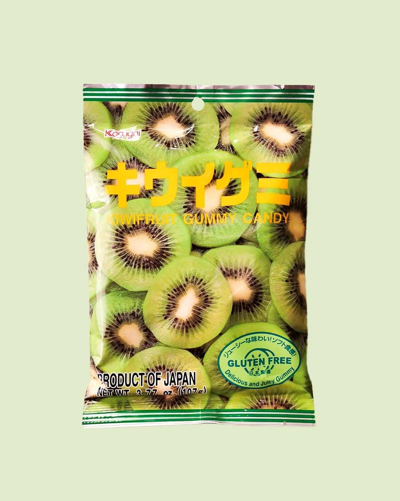 Kasugai Kiwi Gummy Bag