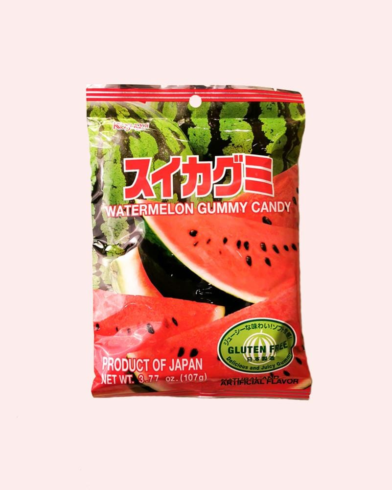 Kasugai Watermelon Gummy Bag