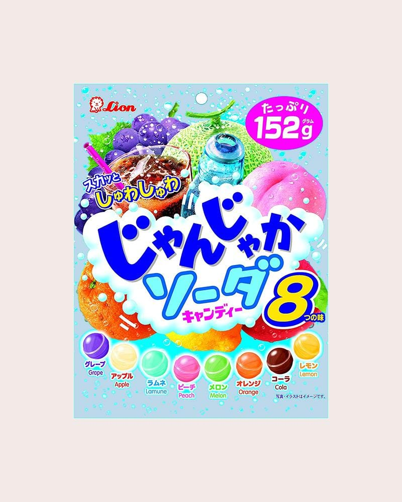 Lion 8 Fruit Soda Candy