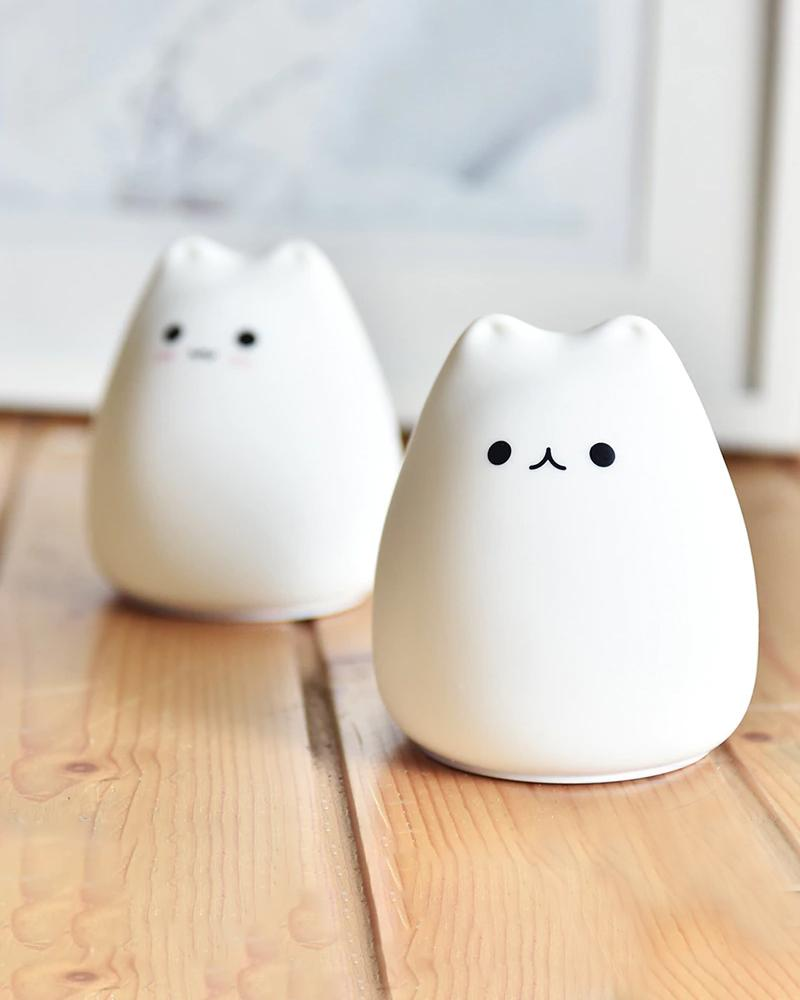 Shop Little Cat Night Light, smile and lovely