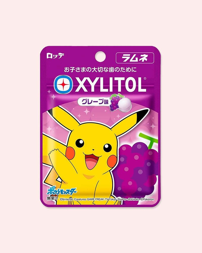 Shop Lotte Pokemon Xylitol Ramune Grape Candy