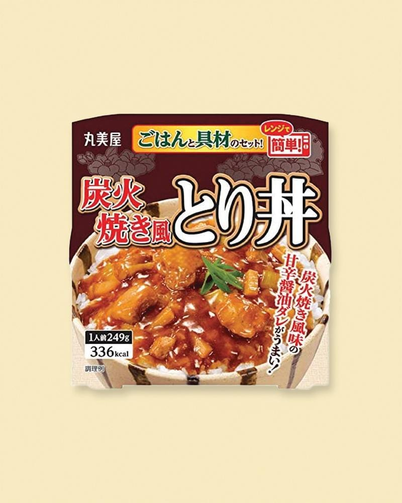 Shop MARUMIYA Charcoal Grilled Tori with Spicy Shoyu Mixed Japanese Rice
