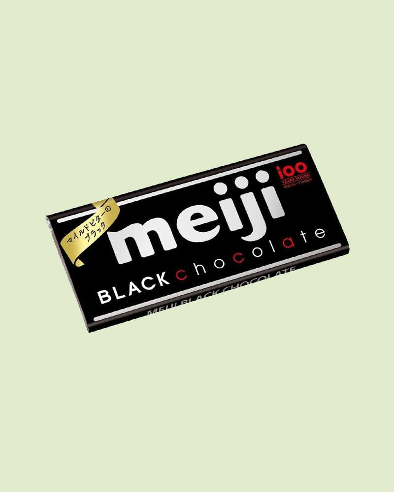 Meiji Black Chocolate Bar
