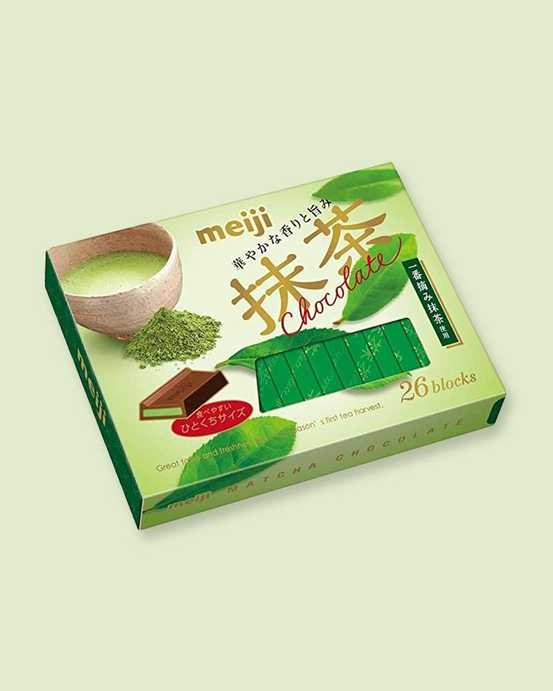 Shop Meiji Matcha Chocolate Box
