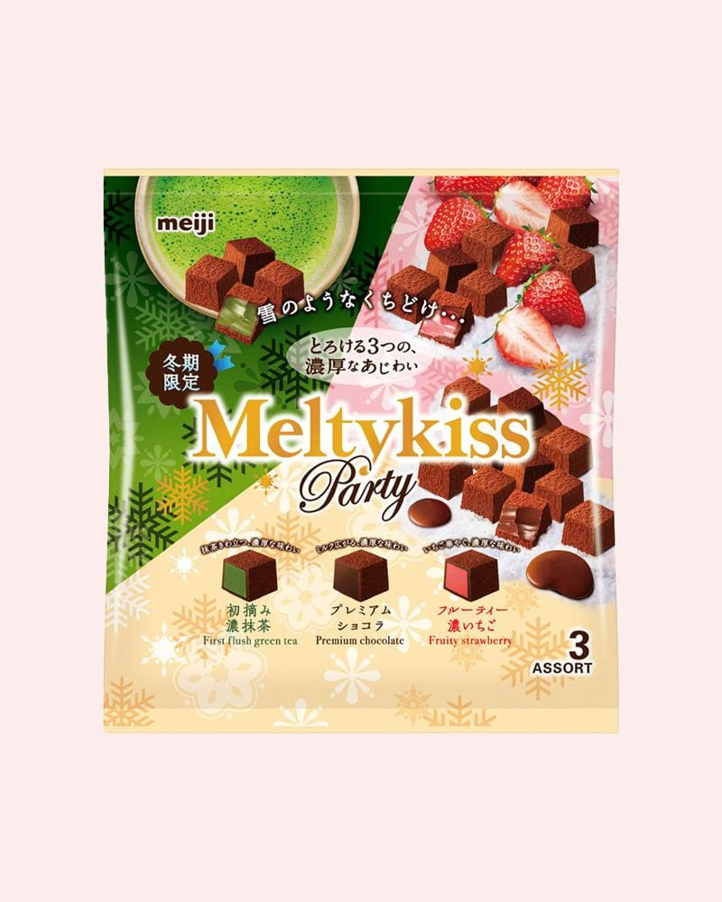 Shop Meiji Meltykiss Assorted Party Bag Chocolate