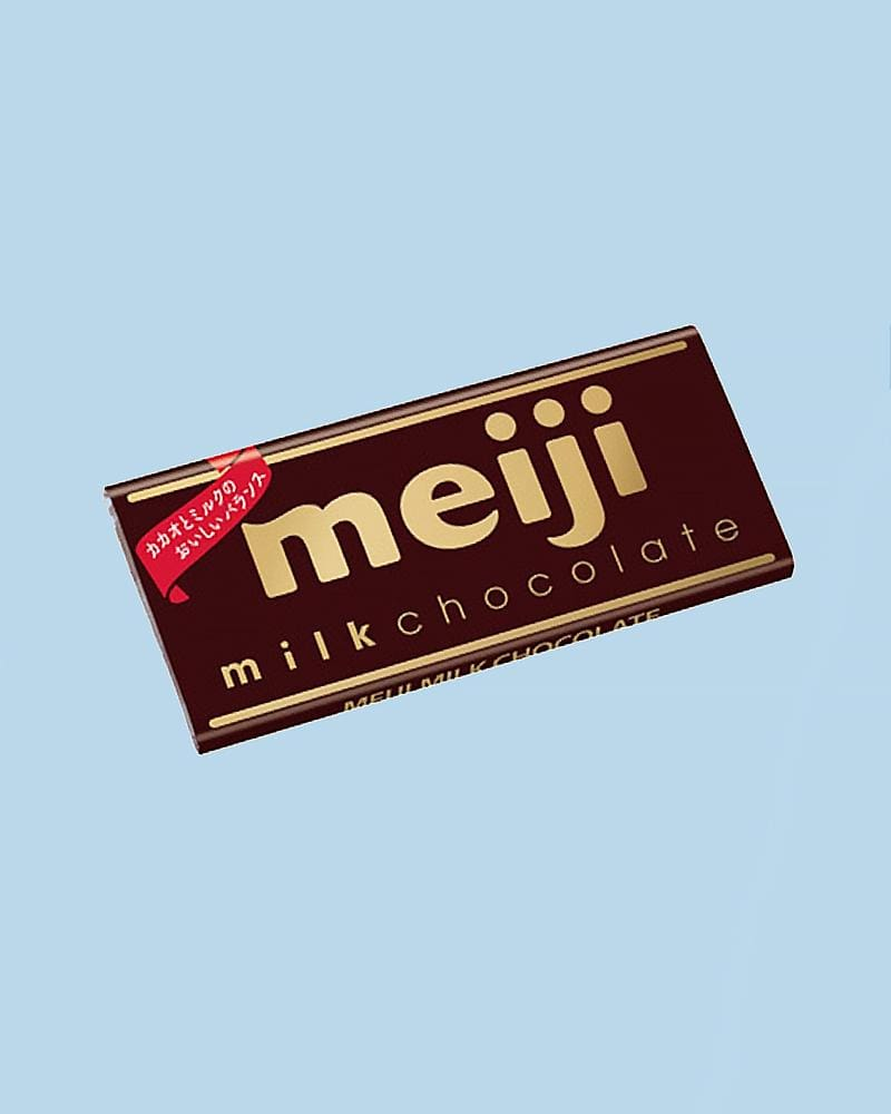 Meiji Milk Chocolate Bar