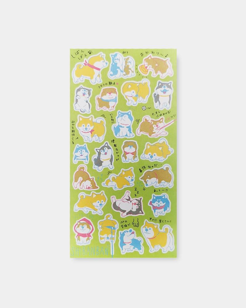 Shop Mind Wave Wai Wai Shibanban Japanese Sticker Sheet
