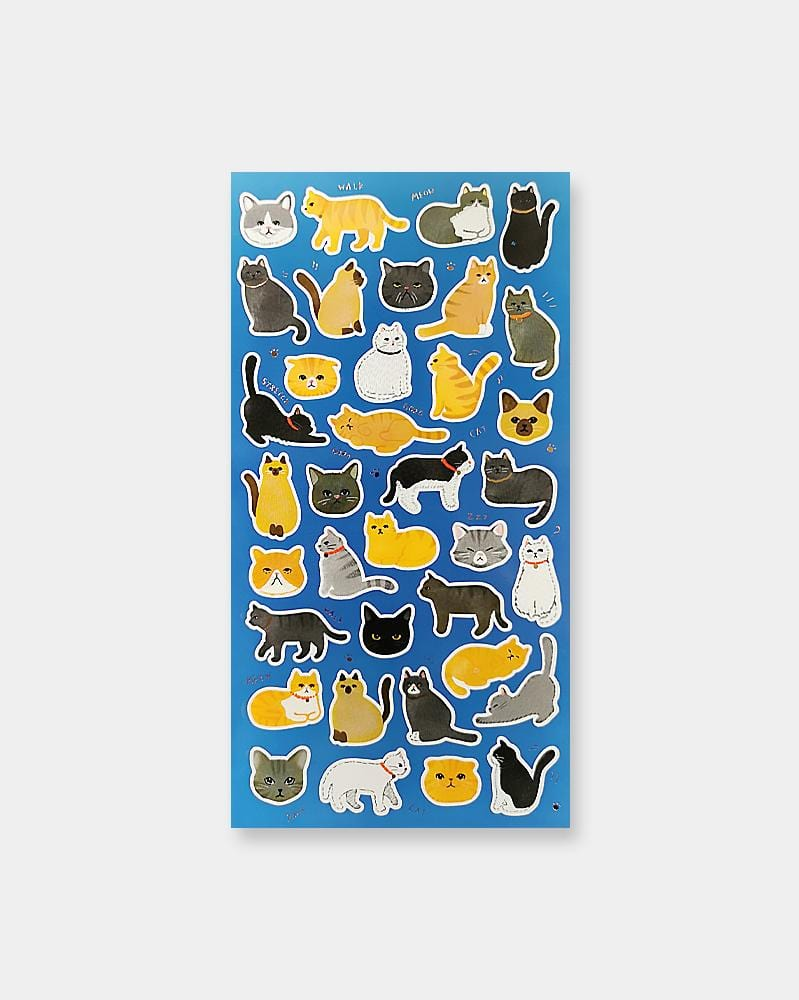 Shop Mind Wave Cat Nap Japanese Sticker Sheet