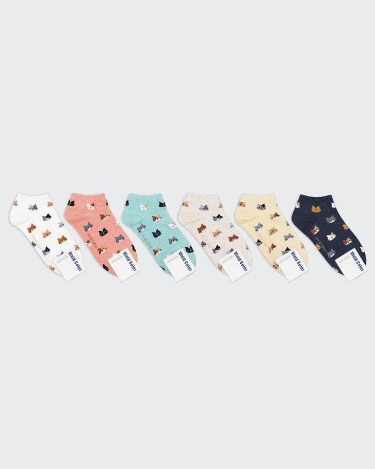 buy cute kawaii japanese mini cat friends socks
