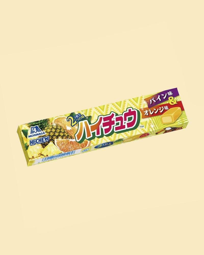 Shop Pineapple and Orange HI-CHEW Soft Candy Stick (Japan)