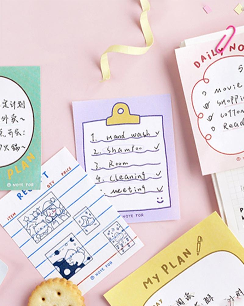 Shop NOTE FOR Everyday Notepads