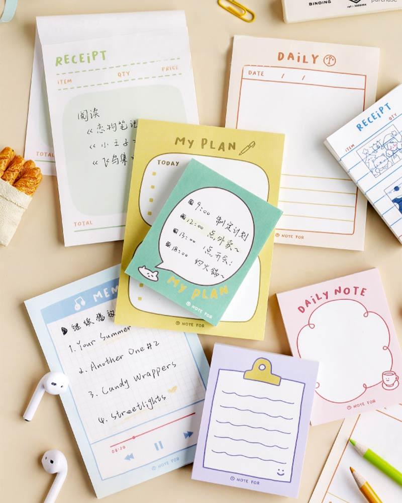 Add flair to your daily note taking with the NOTE FOR Everyday Notepads!