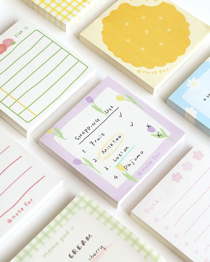 Shop the NOTE FOR Summer Fruit Notepad Collection