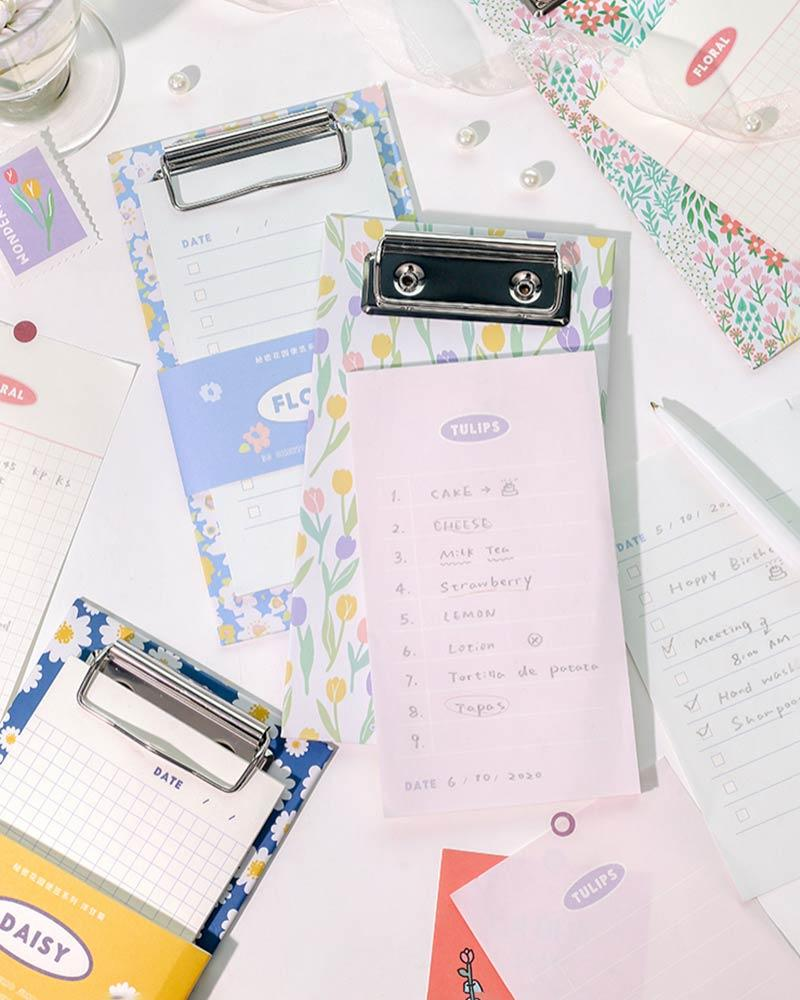 Shop NOTE FOR Secret Garden Notepad with Clipboard