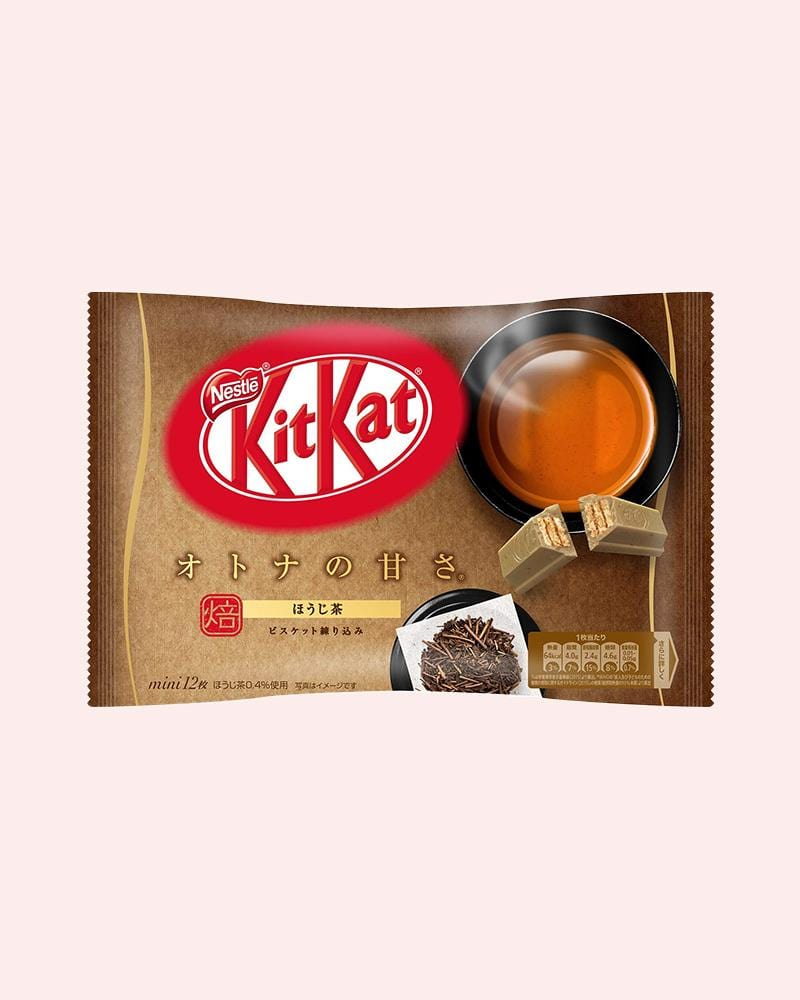 shop Nestle Japan's Hojicha Roasted Green Tea KitKat Bag