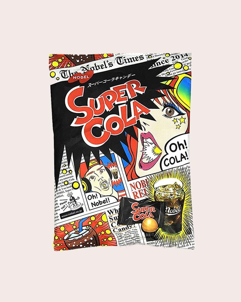 Nobel Super Sour Cola Candy Bag