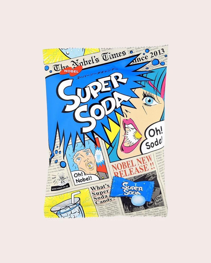 Nobel Super Sour Soda Candy Bag