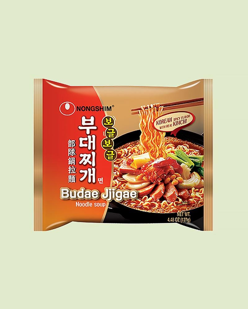 Nongshim Budae Jjigae Ramen Single Pack