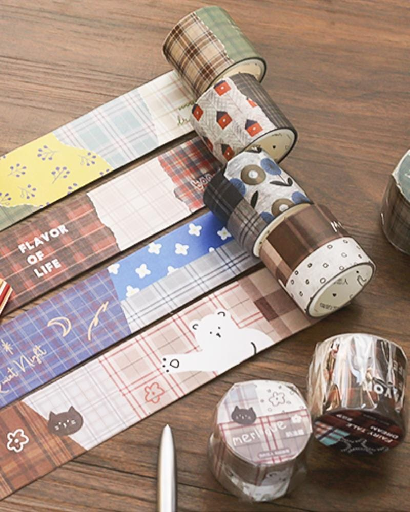 Shop NOTE FOR Plaid Washi Tape