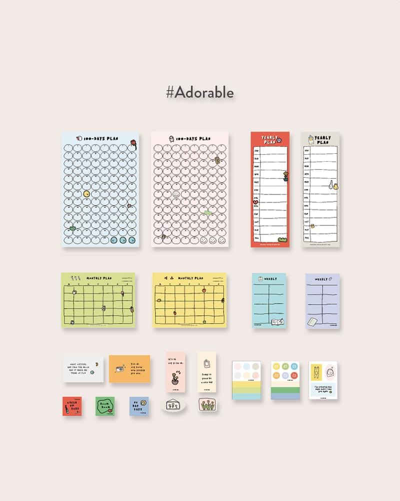 NOTE FOR To The Better Me To-Do Planner Kit #Adorable