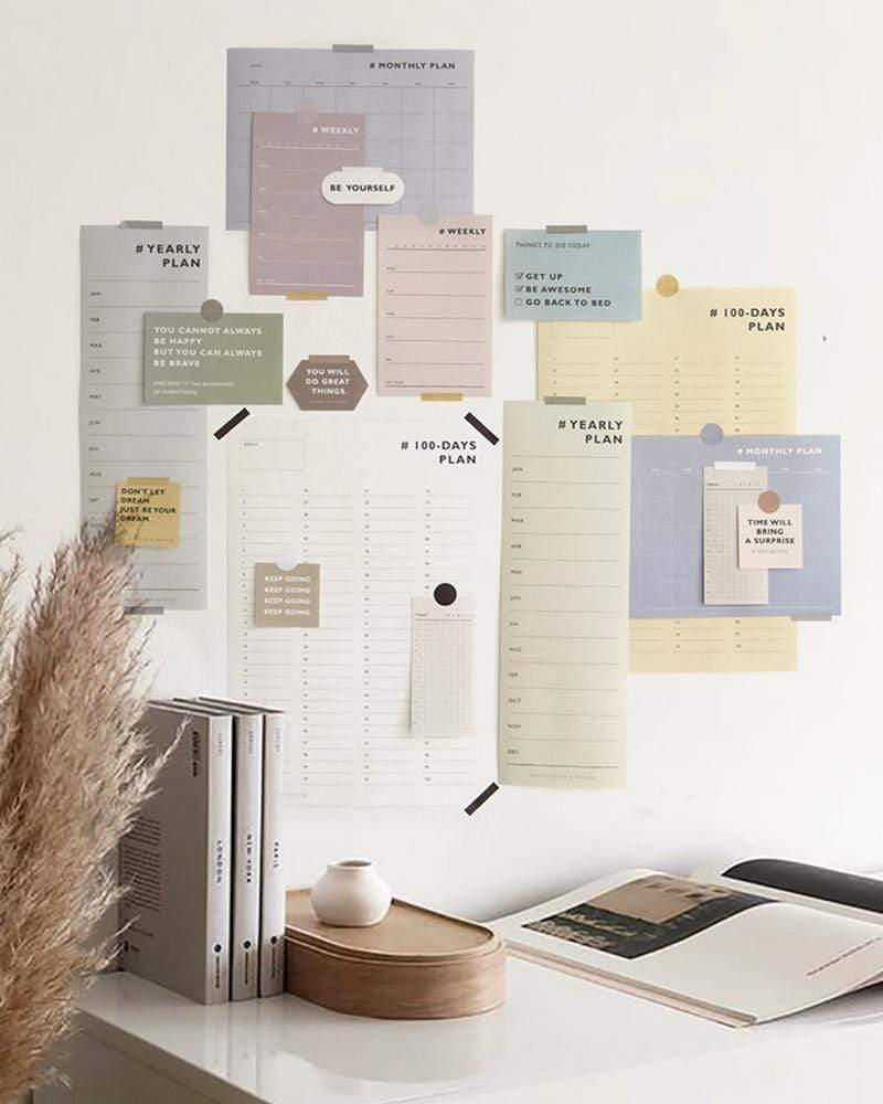 NOTE FOR To The Better Me To-Do Planner Kit #Simple