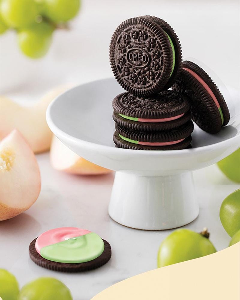 Shop Oreo Peach & Grape Cream Cookies