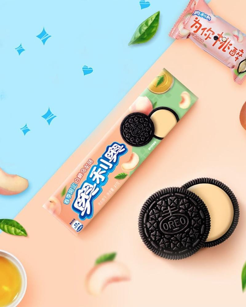Shop Oreo Peach Oolong Cream Cookies