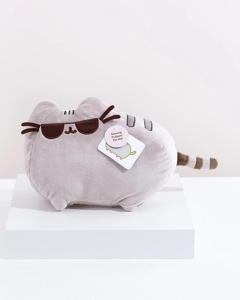 "PUSHEEN© Dancing with Sunglasses 9.5"" Animated Plush"