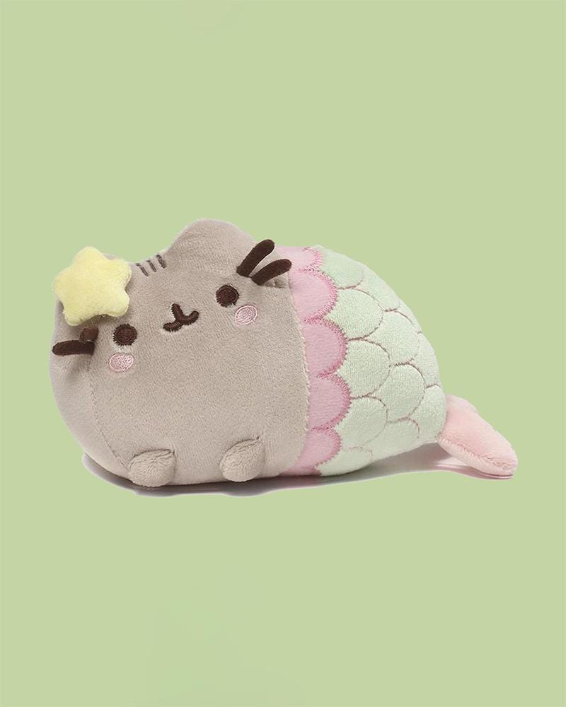 "PUSHEEN© Mermaid with Golden Star 7"" Plush"