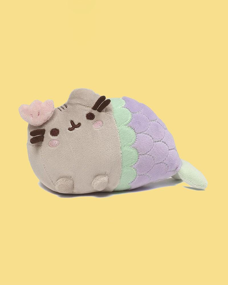 "PUSHEEN© Mermaid with Pink Shell 7"" Plush"