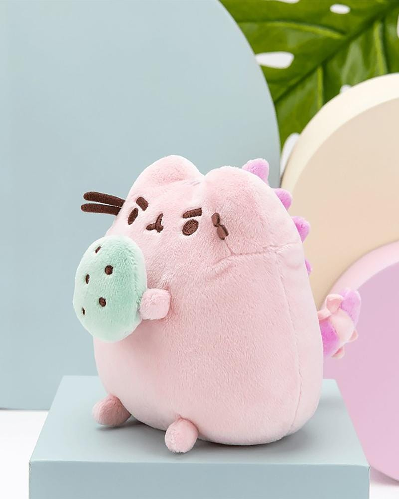 "PUSHEEN© Pink Pusheenosaurus with Egg 6"" Plush"